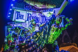 County Champions Huckyduck Carnival Club at the 2017 Midsomer Norton Illuminated Carnival
